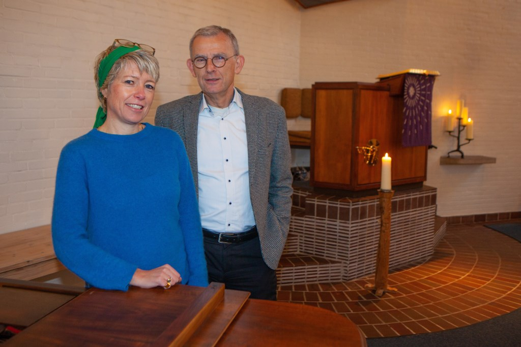 Krujff en Maarten den Ottolande willen de kerk vernieuwen. Foto: Bob Awick © Enter Media