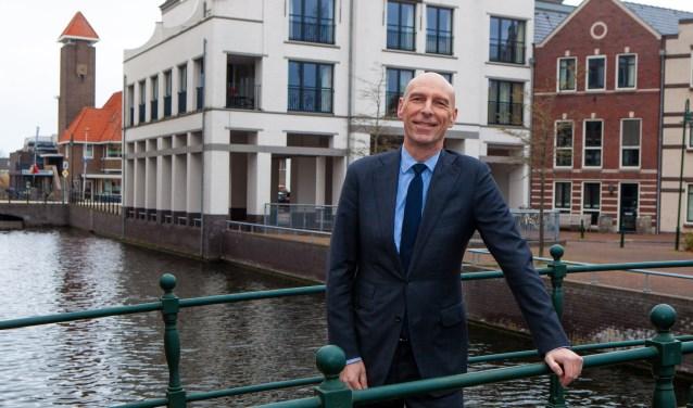 Alexander Luijten wil kijken naar nieuwe vormen van wonen, werken en bedrijvigheid - ook in Bussum centrum.