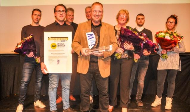 Januari: Theo Voskuil ontvangt de IVW-award
