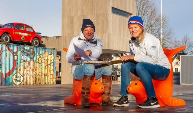 Vrijwilligers Fransien Jongmans en Ellen Hazenberg zijn er klaar voor!