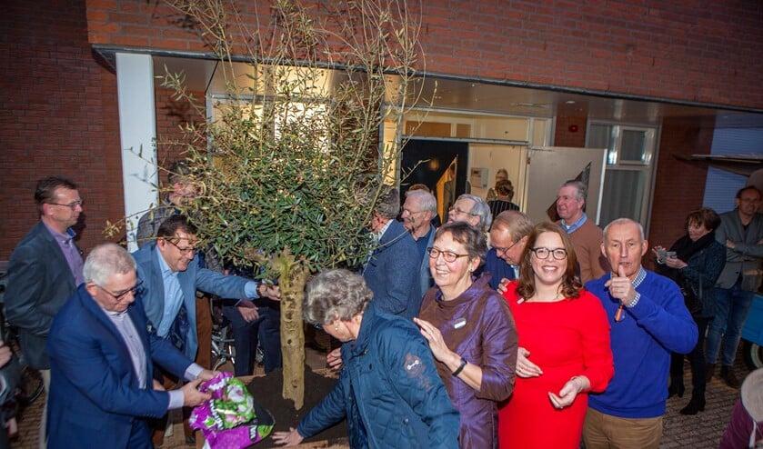 Januari werd Hospice Huizen officieel geopend.