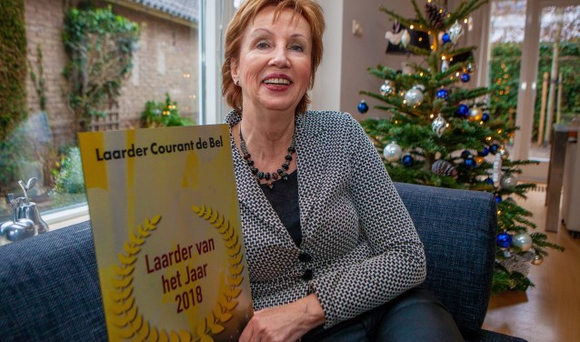 Irmy Vos draagt de prijs ook op aan de andere teamleden en meedenkende leden.