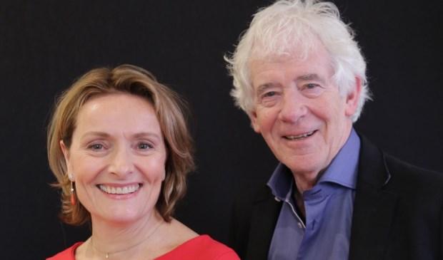 Karin van Hunnik en Peter Calis, lijsttrekkers Larens Behoud.