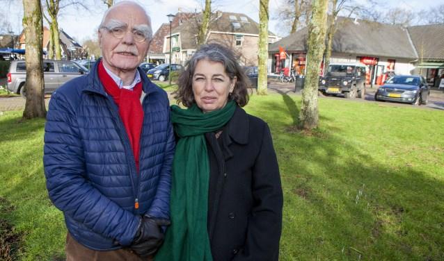 Nico Wegter (D66 Laren) en zijn Blaricumse partijgenoot Carin Francken zijn voor één Gooistad.