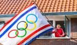 De vlag ging vrijdag opnieuw uit.
