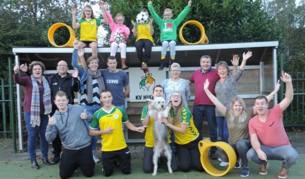 De familie Van As is nog steeds in de running om leukste korfbalfamilie van Nederland te worden.