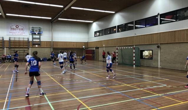 SV Zeeburg speelde voor rust sterk.