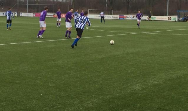 SV Diemen speelt thuiswedstrijd.