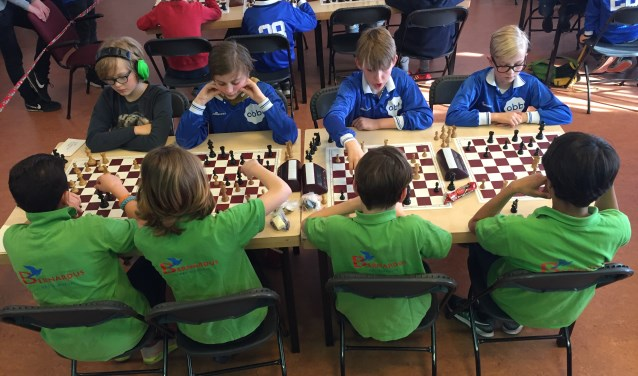 OBB 1 weer BEL schoolschaakkampioen