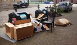 Zo vind je regelmatig containers aan op IJburg.
