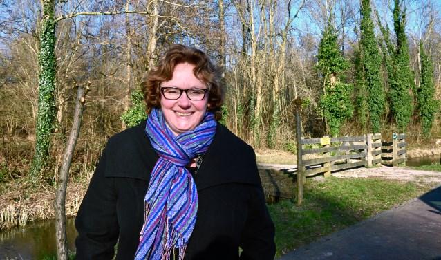 Nicole van Engelen, fractievoorzitter van GroenLinks.