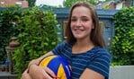 Susanne Kos maakt een volgende stap in haar volleybalcarrière.