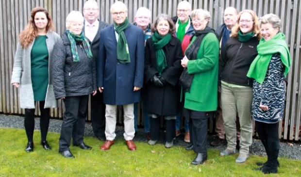 Het team van D66 Blaricum.