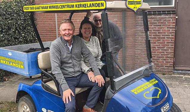 Erik Veerman, Monique Gijsman en Rob Fabriek zijn de initiatiefnemers van het plan.