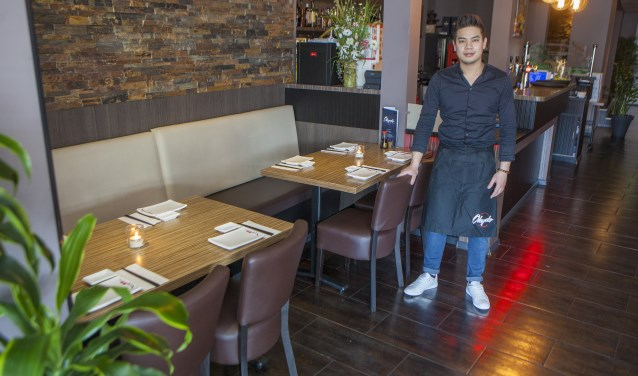 Restaurant Okydo is gevestigd aan de Stationsweg 20 in Bussum.