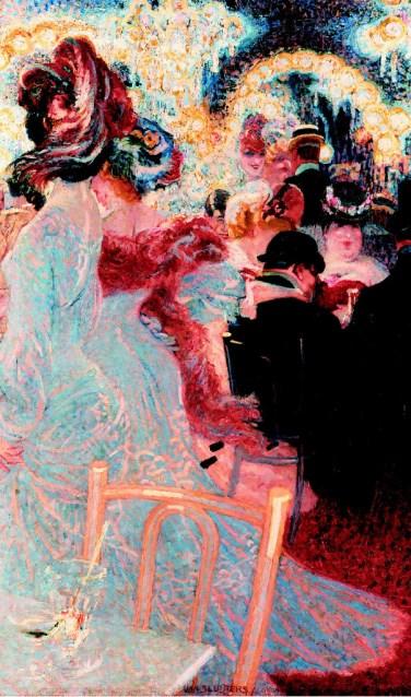 Jan Sluijters, Café de Nuit, Parijs 1906.