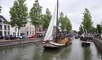 De botenparade tijdens Weesp Gastvrij in 2017.