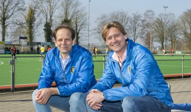 Mischa Pohlmann (links) en Olaf Gockel van HMHC.