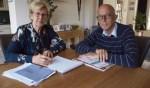 Alwine van de Meent en Marien Weststrate: 'Ons doel is dat mensen weer zelf hun financiën kunnen regelen.'