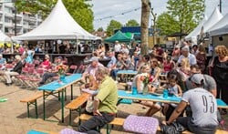 Smakelijk Diemen en jazzfestival Duke op het Diemerplein trokken vorig jaar veel publiek.