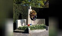 Het herdenkingsmonument in Blaricum.