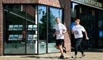 Marvin van Rijn en Wendy Timar trainen voor de marathon van New York.
