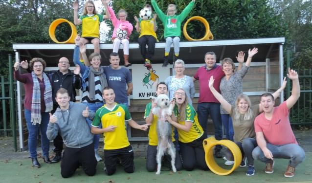 Korfbalfamilie Van As moest de familie Van Essen net laten voorgaan in de finale.