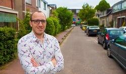Roy van Leijen heeft een BuurtAED in zijn straat geregeld.