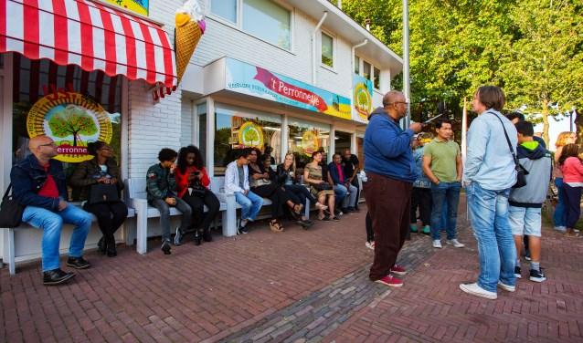 Vorig jaar steunde Liesdek Emanuels met de actie om een ijsje bij haar te komen eten.
