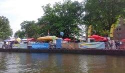 Vandaag activiteiten op loswal en het water.