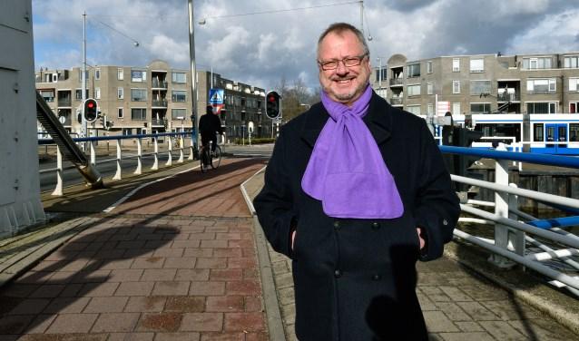 Peter Prins, fractievoorzitter van de Ouderenpartij Diemen.