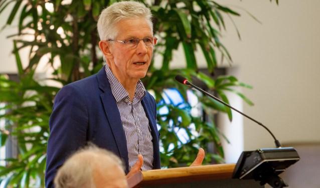 Wethouder Jan van Katwijk.