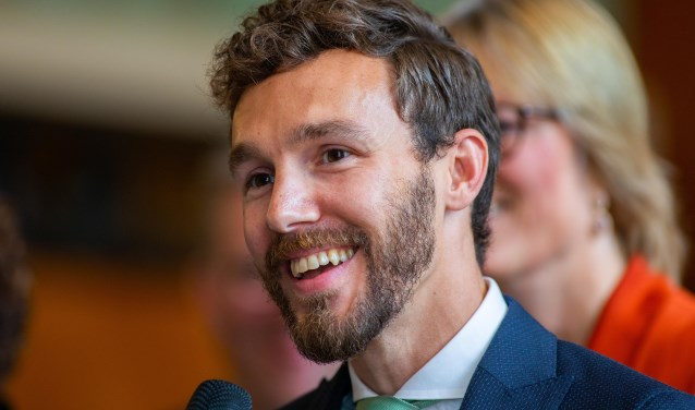 Na zes jaar raadslid te zijn geweest, wordt Arno Scheepers nu wethouder.