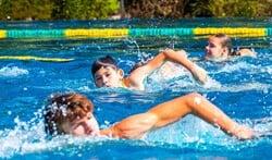Er kunnen volgende week weer baantjes getrokken worden voor de zwemvierdaagse.
