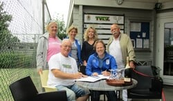 De samenwerkingsovereenkomst werd zondag bij TVDZ getekend.