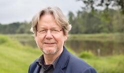 Ruud Grondel in het Diemerbos. 'Ik blijf de ontwikkelingen van het bos volgen.'