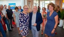 Wethouders Marianne Verhage, Gerrit Pas en Janny Bakker hebben afscheid genomen.