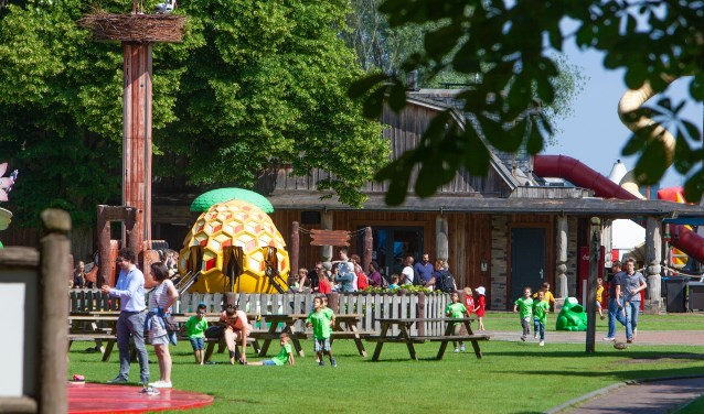 De burgemeester is niet meer welkom in Speelpark Oud Valkeveen.