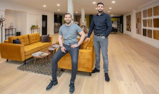 Egzon Shuki (links) en Tarik Bayrak: 'We krijgen ook zo veel positieve reacties.'