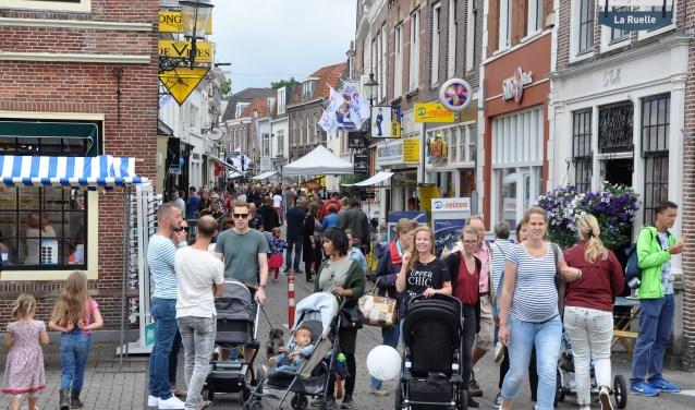In 2017 genoten veel mensen van alle activiteiten tijdens Weesp Gastvrij.