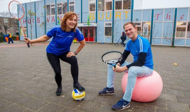 Eerder organiseerden de buurtsportcoaches al een seniorenbijeenkomst in De Draaikom.