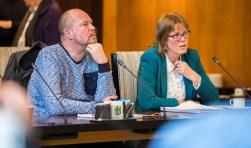 Woensdag 26 september zit Jerry Braaksma (links) voor het laatst namens HvH in de raadszaal.