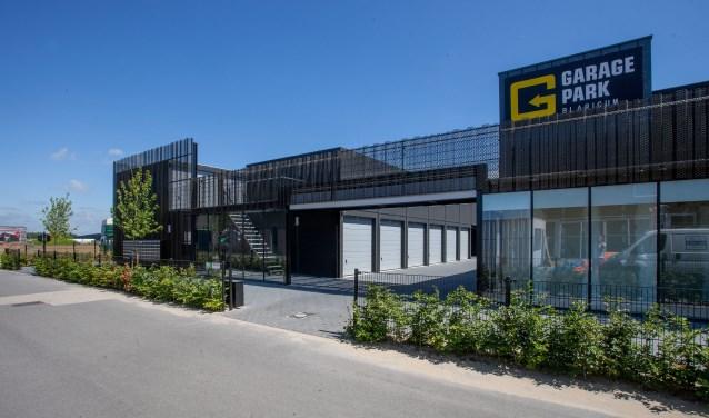 GaragePark Blaricum aan de Binnendelta.