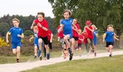 Ook jeugd kan meedoen aan de Gooise Heideloop.