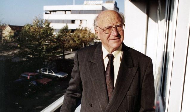 Ex-wethouder Piet van Diemen.