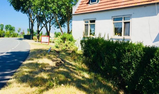 De woning aan de Dammerweg.
