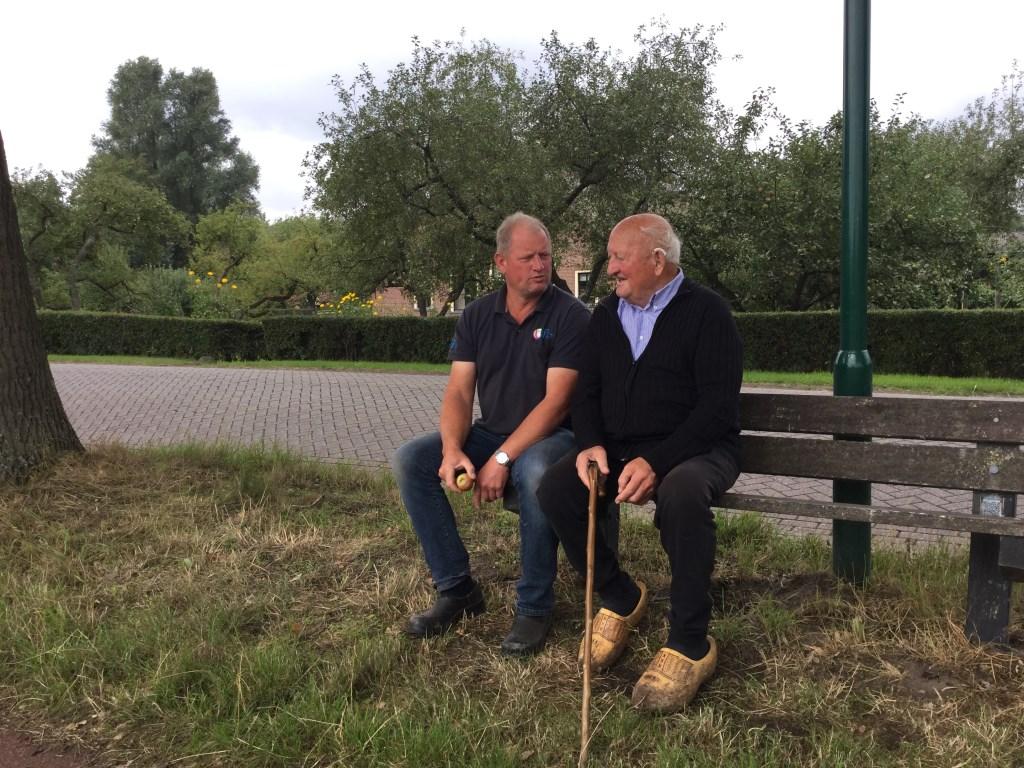 Joop Blom met zoon Willem. Foto: Gerard Wortel © Enter Media