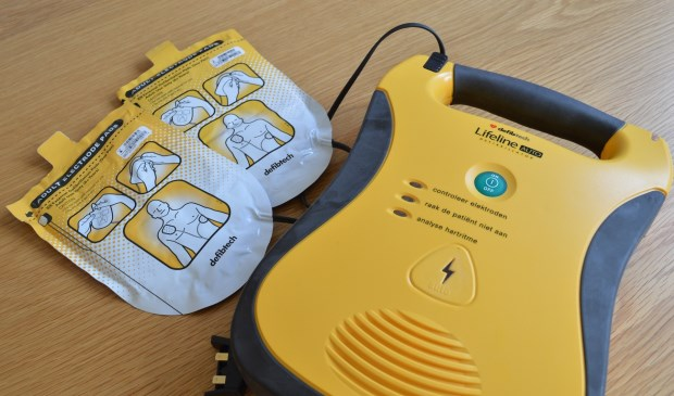 Een Automatische Externe Defibrillator oftewel AED