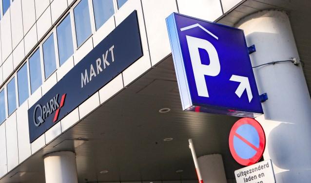 Markt is een van de parkeergarages die Q-Park beheert in het centrum.