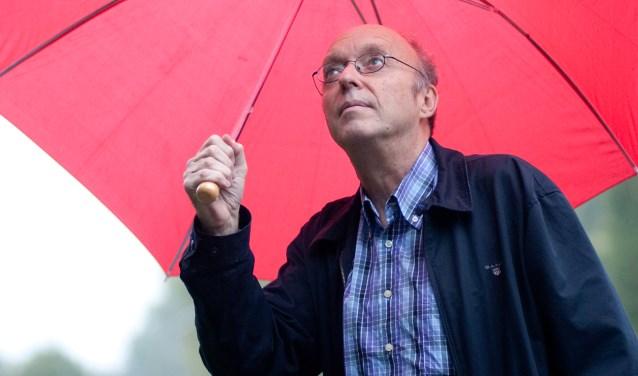 Pieter de Blois, weerman van Radio Weesp.